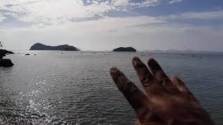 진도여행 세방낙조 몽돌해변
