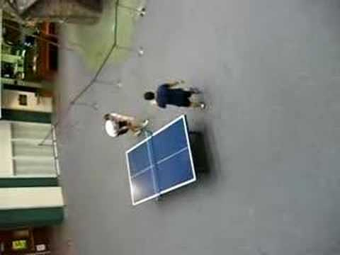 Mexican-Caucasian Ping Pong (DELETED SCENES!)
