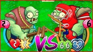 Победил Капитана Огонька   Игра Зомби против Растений Герои от Фаника Plants vs zombies Heroes 54