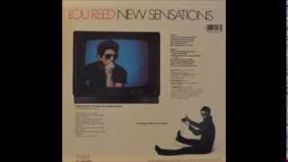 Lou Reed New Sensations Full album vinyl LP