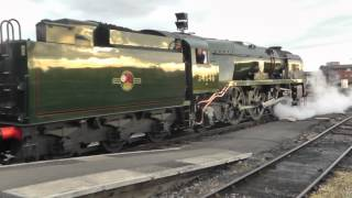 The Torbay Express   SR 34046 Braunton at Bristol Temple Meads - 15th Sep 2013