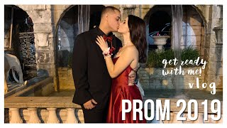 PROM 2019 GET READY WITH ME/VLOG || Mptias Mua