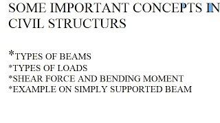 SOME  MPORTANT CONCEPTS  N C V L STRUCTURS