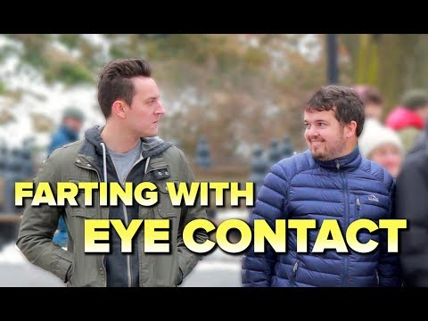 FARTING WITH EYE CONTACT