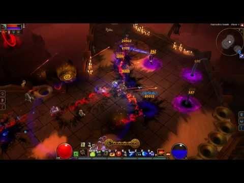 Torchlight II: Emberquake Engineer - Tarroch's Tomb Solo NG+ Elite (NO Forcefield) [HD]