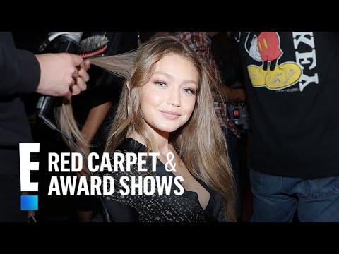 Gigi Hadid on VS Return Alongside Kendall Jenner & Sister Bella | E! Red Carpet & Award Shows