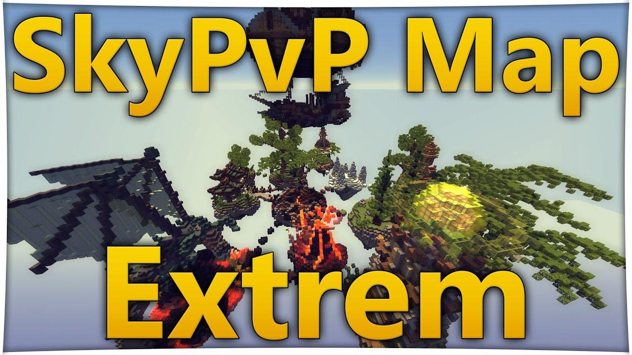 Minecraft Skypvp Map Download German 1 7 1 8 1 9