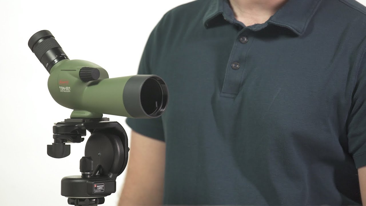Kowa tsn angled spotting scope youtube