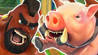 HOGS EVERYWHERE! 20 WIN CHALLENGE! - Clash Royale