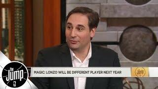 Zach Lowe jokingly calls Magic Johnson's prediction for Lonzo Ball a 'bold take' | The Jump | ESPN