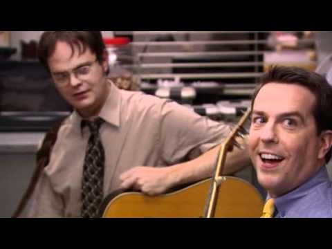 Dwight and Andy play