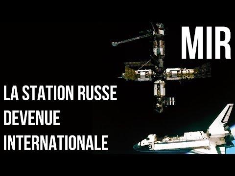 MIR : LA STATION RUSSE DEVENUE INTERNATIONALE