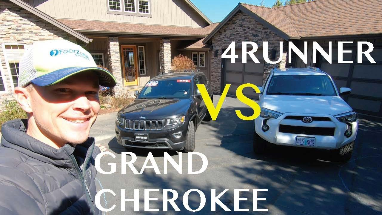 Which Is Better Jeep Grand Cherokee Or Toyota 4runner Youtube