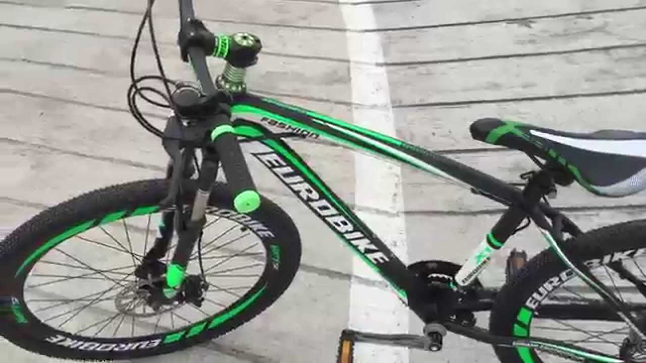 96b369ba1bd Eurobike X1   Premium Mountain Bike in Singapore from Bicycles.sg - YouTube