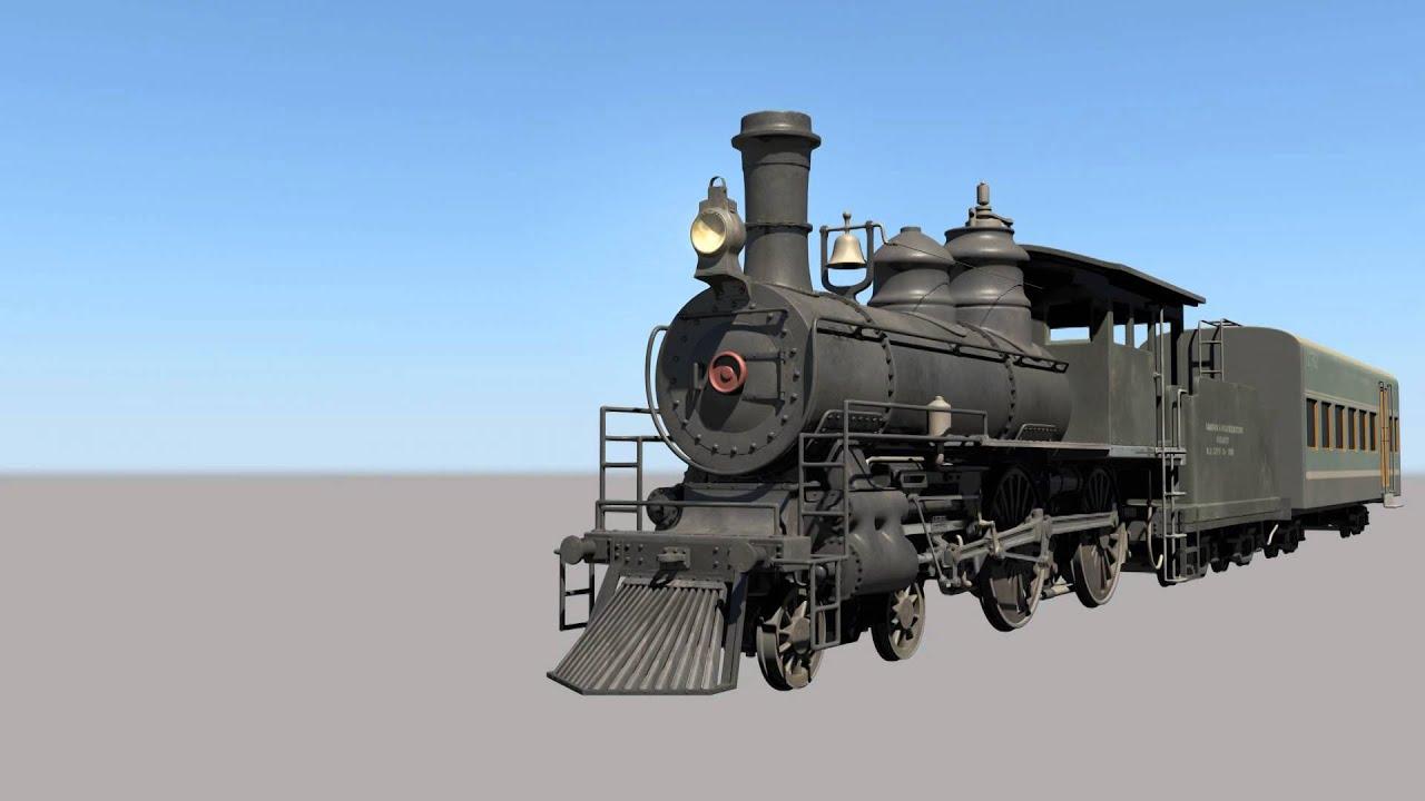 Steam Train animation