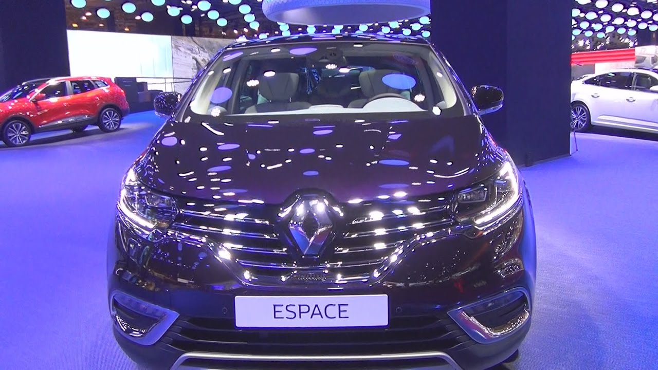 renault espace initiale paris energy tce 200 edc 7pl 2017 exterior and interior in 3d youtube. Black Bedroom Furniture Sets. Home Design Ideas
