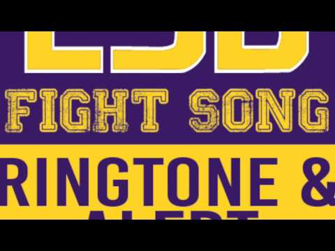 Louisiana University Song LSU Fight Song Theme Ringtone and Alert