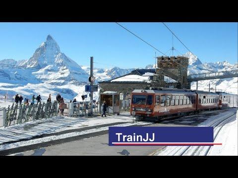 Gornergratbahn │Zermatt - Gornergrat │The Matterhorn Railway │Train Switzerland │ Mount Matterhorn