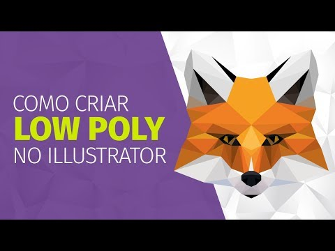 Como criar LOW POLY ART no Illustrator