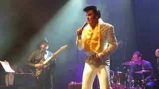 GREG MILLER..Elvis Show 2017 Zaragoza-Spain