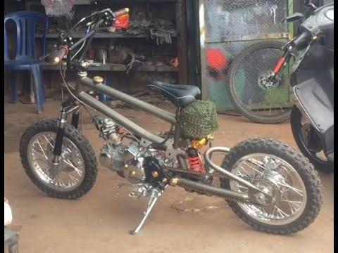 Modif Sepeda Bmx Dikasih Mesin Supra 125 Cc Kereen Abis Withme Stayhome Wfh Otomotif Modif Youtube