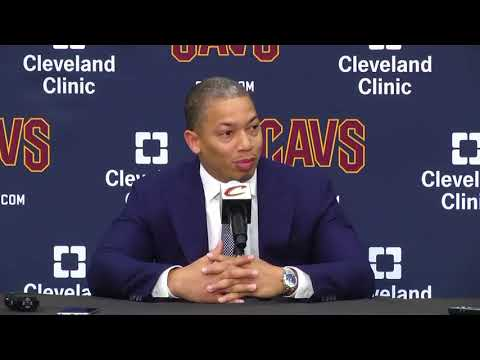 (FULL) Cavaliers coach Tyronn Lue press conference | 2017 NBA Media Day | ESPN