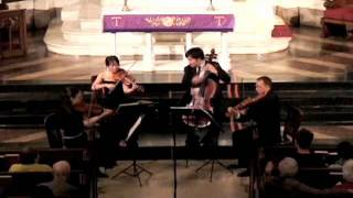 "Attacca Quartet plays Haydn Op. 33 no. 2 ""Joke"" - Fourth Movement"