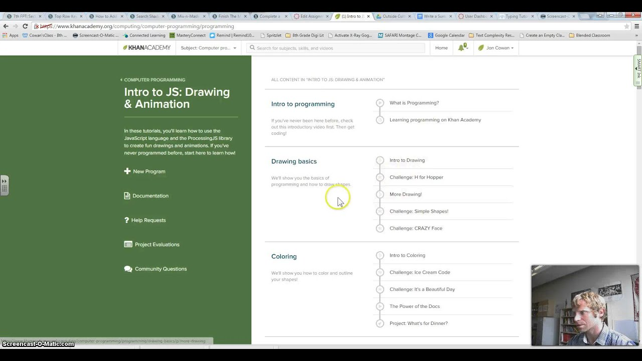 Khan Academy Intro to JS Assignment