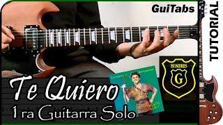 Cómo tocar Te Quiero de Hombres G / Tutorial para 1ra Guitarra