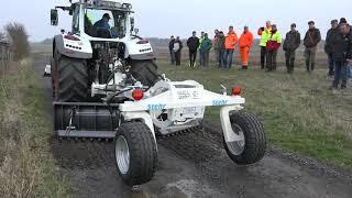 El sistema de cuidado constante sugiere 35 t para caminos forestales y de grava