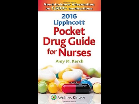 Nurses Drug Guide Pdf