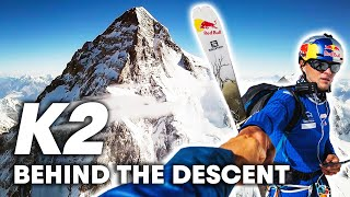 Experience the world's first ski descent of K2 with Andrzej Bargiel