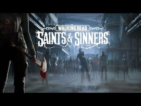 The Walking Dead: Saints u0026 Sinners All Cutscenes (Game Movie) 1080p HD