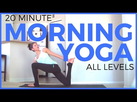 20 Minute Morning Yoga Routine | SarahBethYoga