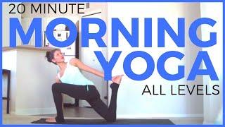 Video 20 Minute Morning Yoga Routine | SarahBethYoga download MP3, 3GP, MP4, WEBM, AVI, FLV Maret 2018