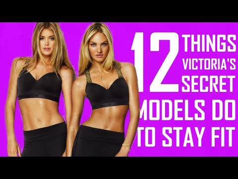 12 Things Victoria's Secret Models Do To Stay Fit