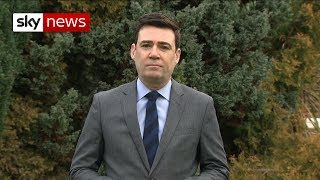 Burnham: UK in 'very perilous waters' over Brexit