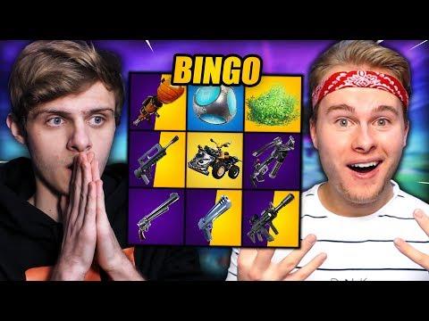 EXTREME BINGO #2 | Fortnite Mini-Game ft. Royalistiq