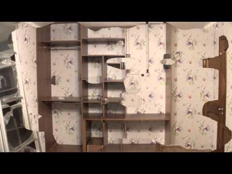 шкаф-купе+натяжной потолок