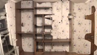 Встроенный шкаф-купе под натяжной потолок. тел 89000121312(, 2015-11-23T21:12:10.000Z)