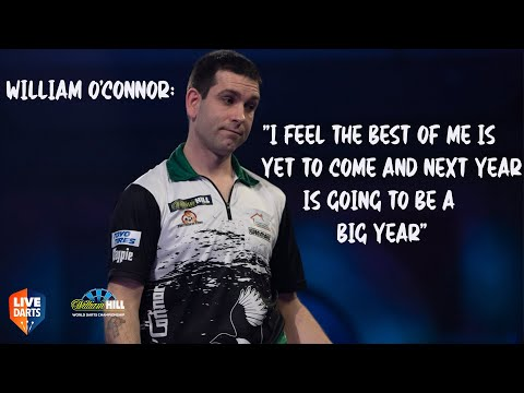 "William O'Connor: ""I feel the best of me is yet to come and next year is going to be a big year"""