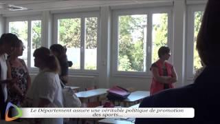 Conférence de presse - Collège des Chaumes - Édition 2015 à Avallon (89)