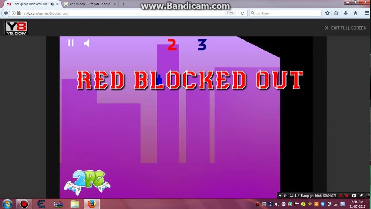 Clip Chơi Game Blocked Out Trên Y8 Cực ức Chế V Youtube