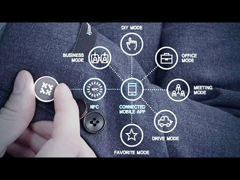 The HumanFit; World's FIRST Smart CLOTHING Brand by SAMSUNG - First Look at CES 2016