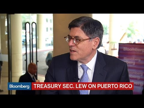 Treasury Secretary: Need for Action on Puerto Rico Crisis Is 'Urgent'