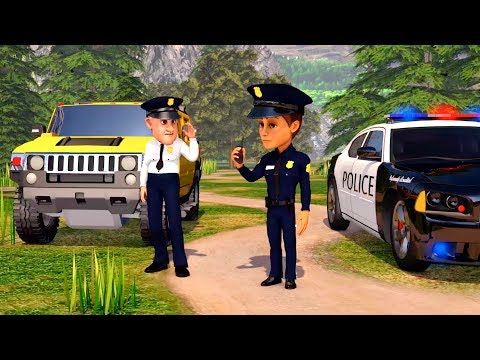 Cartoon Cars compilation 30 MIN. Police Cars Cartoons for children. Truck movies for children.