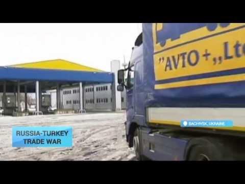 Russia-Turkey Trade War: Turkish trucks blocked on Ukraine border