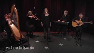 Harp & Holly - All Poor Men and Humble - Celtic Harp, Viola, Fingerstyle Guitar, Piano, Alto Voice