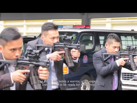 Singapore Police Force - Security Command VIP Protection Officer [1080p]