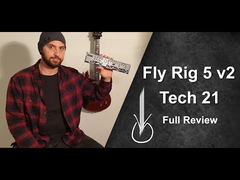 Fly Rig 5 v2 - Tech 21 - Full Review and Solo by George Vichos